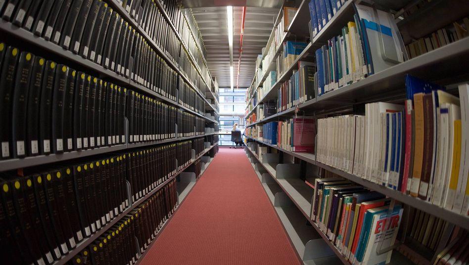 Uni-Bibliothek (in Konstanz): Da ist doch sicher noch Platz für ein paar Tagungsbände
