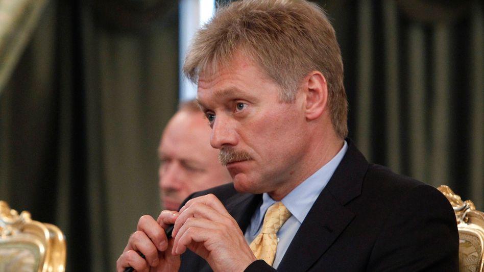 Putin-Sprecher Dmitri Peskow