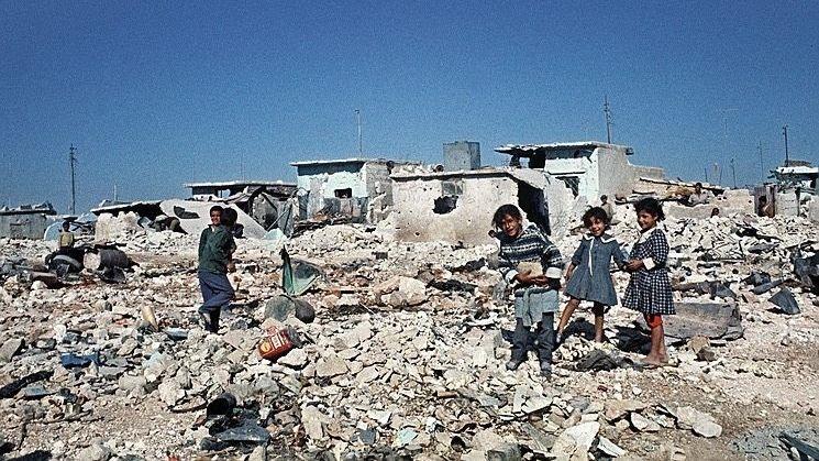 Flüchtlingscamp der Palästinenser