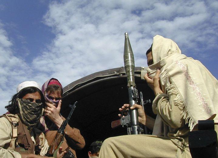 """Taliban-Kämpfer in Buner, Pakistan (im April): """"""""Junge, ehrgeizige Leute, die beweisen wollen, was sie können"""""""