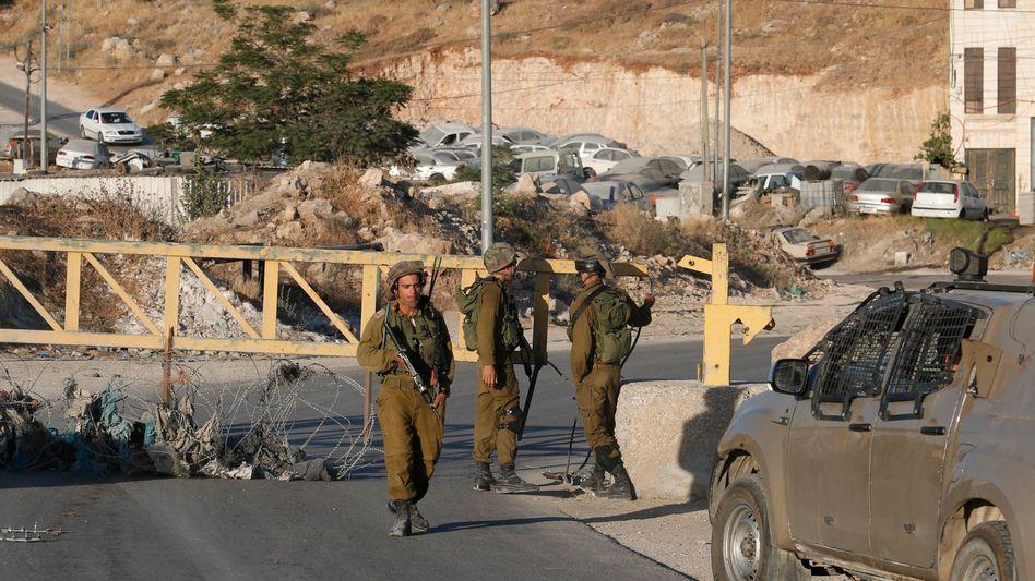 Israelische Soldaten (Archiv)