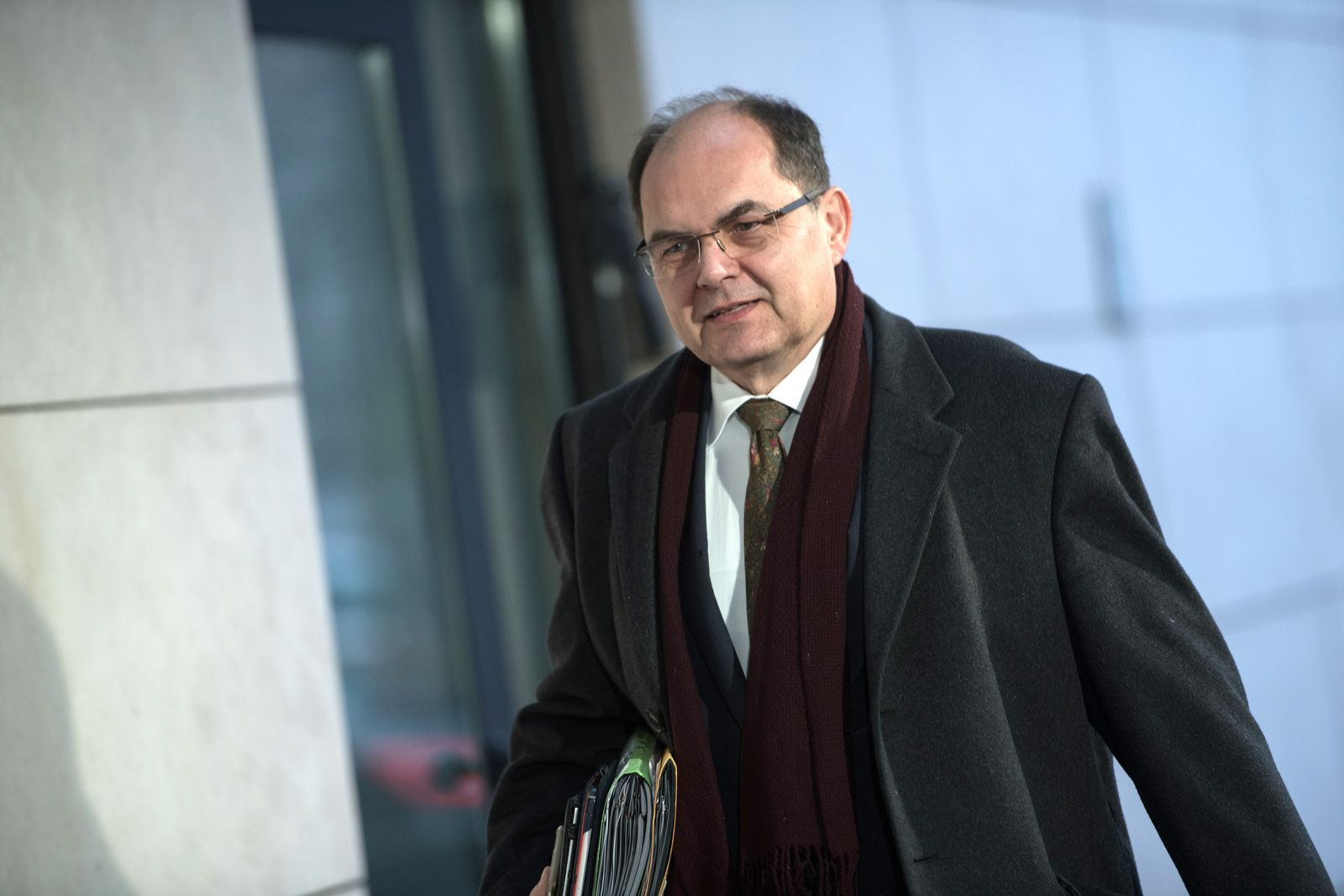 Kabinett Spekulation/ SPD/ Christian Schmidt