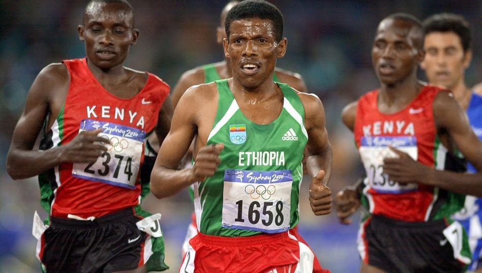 Äthiopische Lauflegende Haile Gebrselassie: Singen bei längeren Strecken