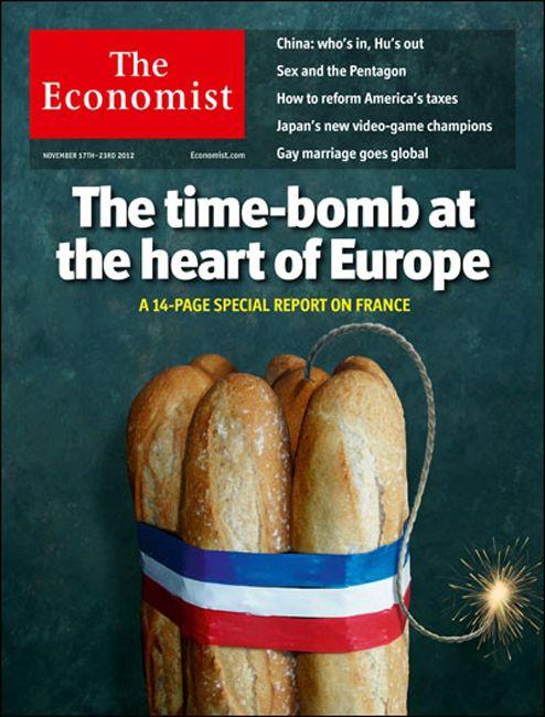 EINMALIGE VERWENDUNG The Economist / Cover / November 2012