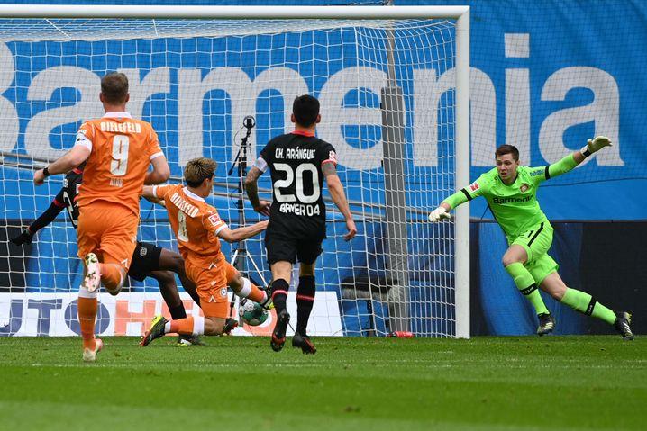 Bielefelds Ritsu Doan erzielte seinen vierten Saisontreffer