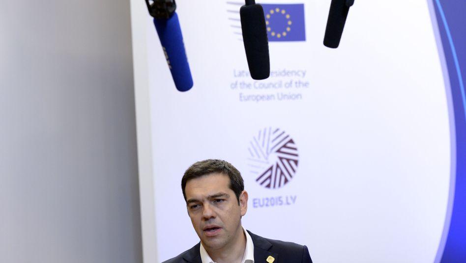 Gerüchte um gescheiterten Reformplan: Tsipras-Äußerung versetzt Börsen in Aufruhr