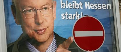 Wahlkampfplakat in Hessen: Kritischer Brief versetzt Union in Aufruhr