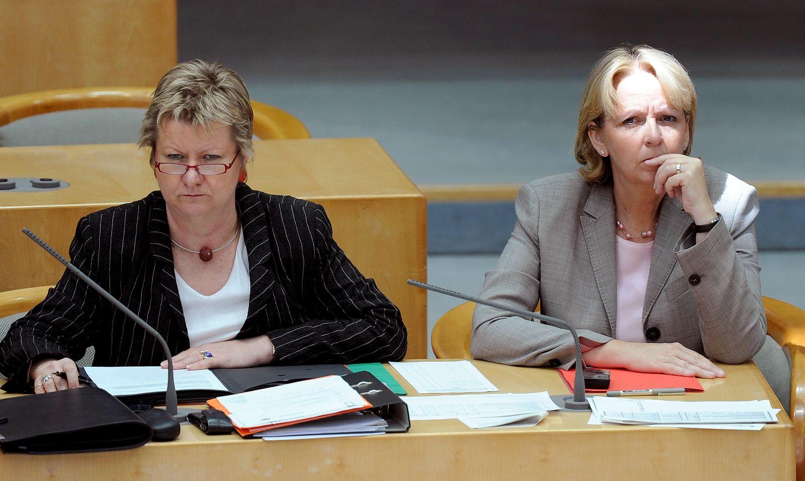Sylvia Löhrmann / Hannelore Kraft