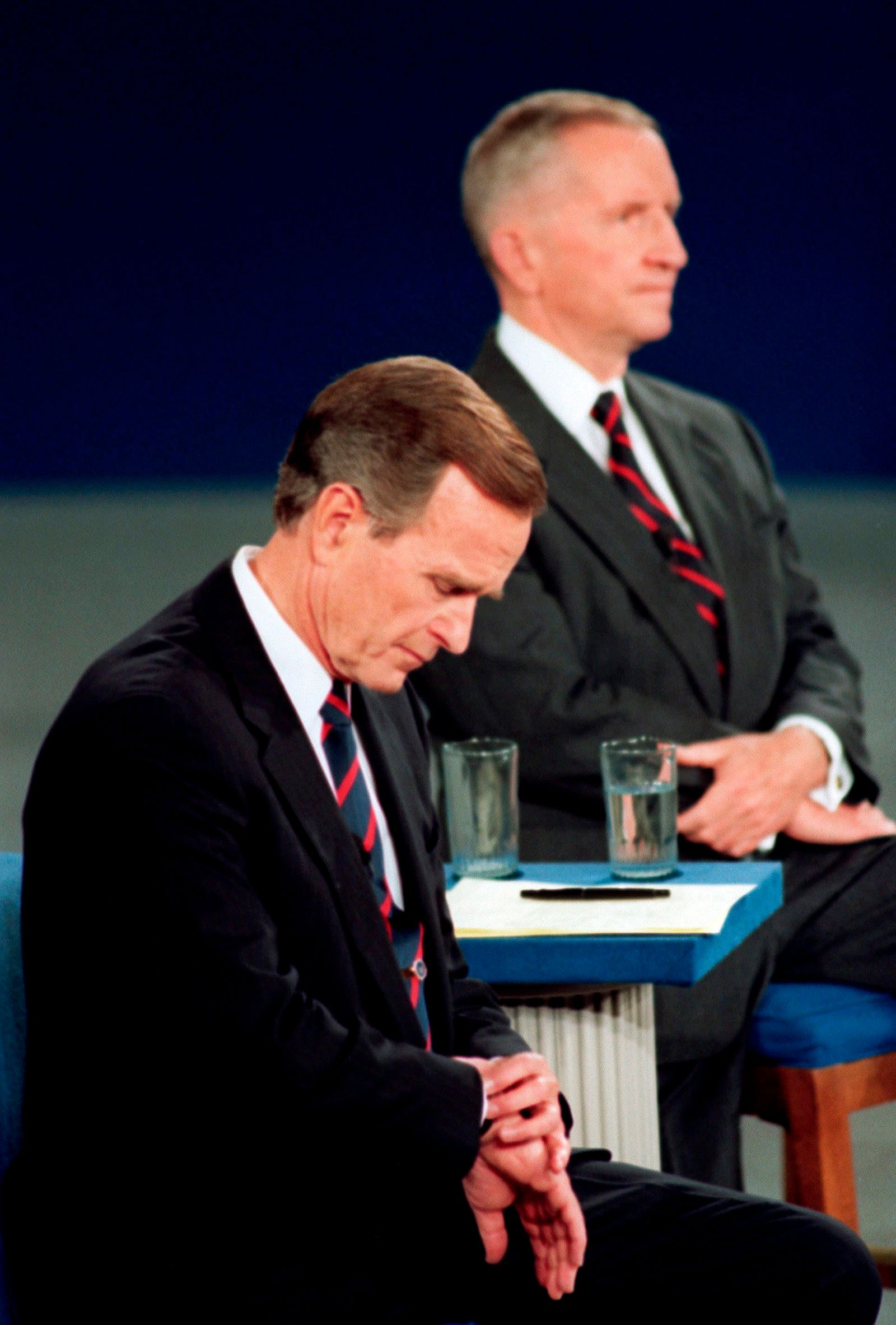 George H.W. Bush, Ross Perot