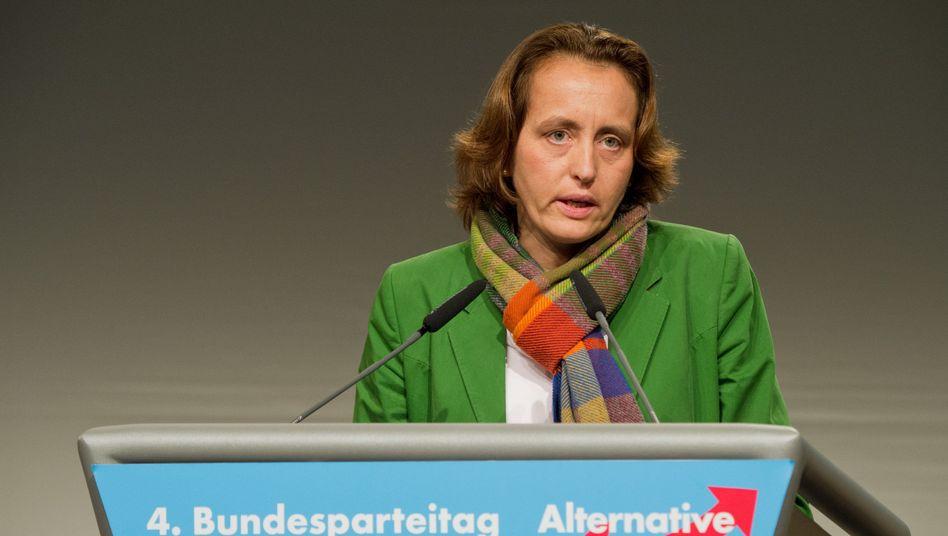 """EU-Abgeordnete von Storch: """"Technischer Fehler"""""""