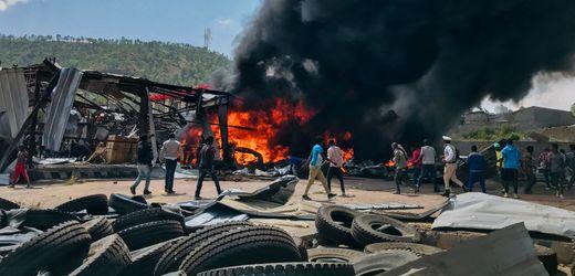 Äthiopien: Luftwaffe fliegt weiteren Angriff auf Rebellenorganisation TPLF