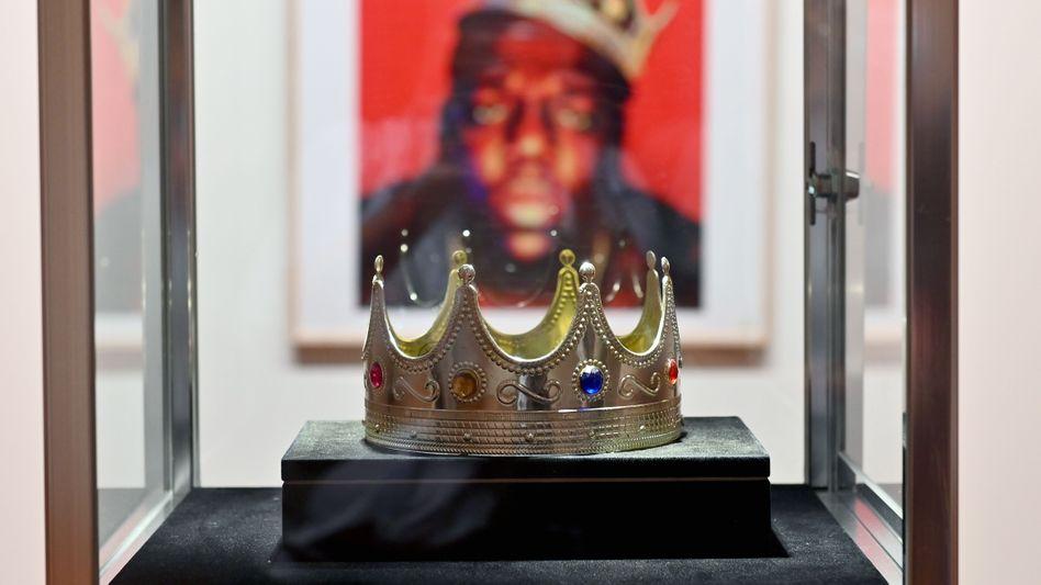 Teures Stück Plastik: Die Krone des Rappers Notorious B.I.G.