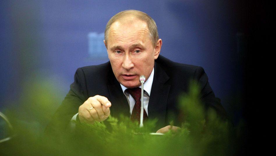 Russlands Präsident Putin: Wohnungsdurchsuchungen bei Oppositionsführern