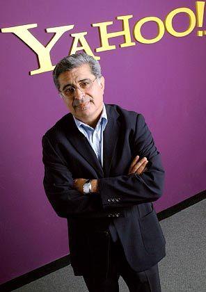 Im Kreuzfeuer der Aktionäre: Yahoo-Chef Terry Semel