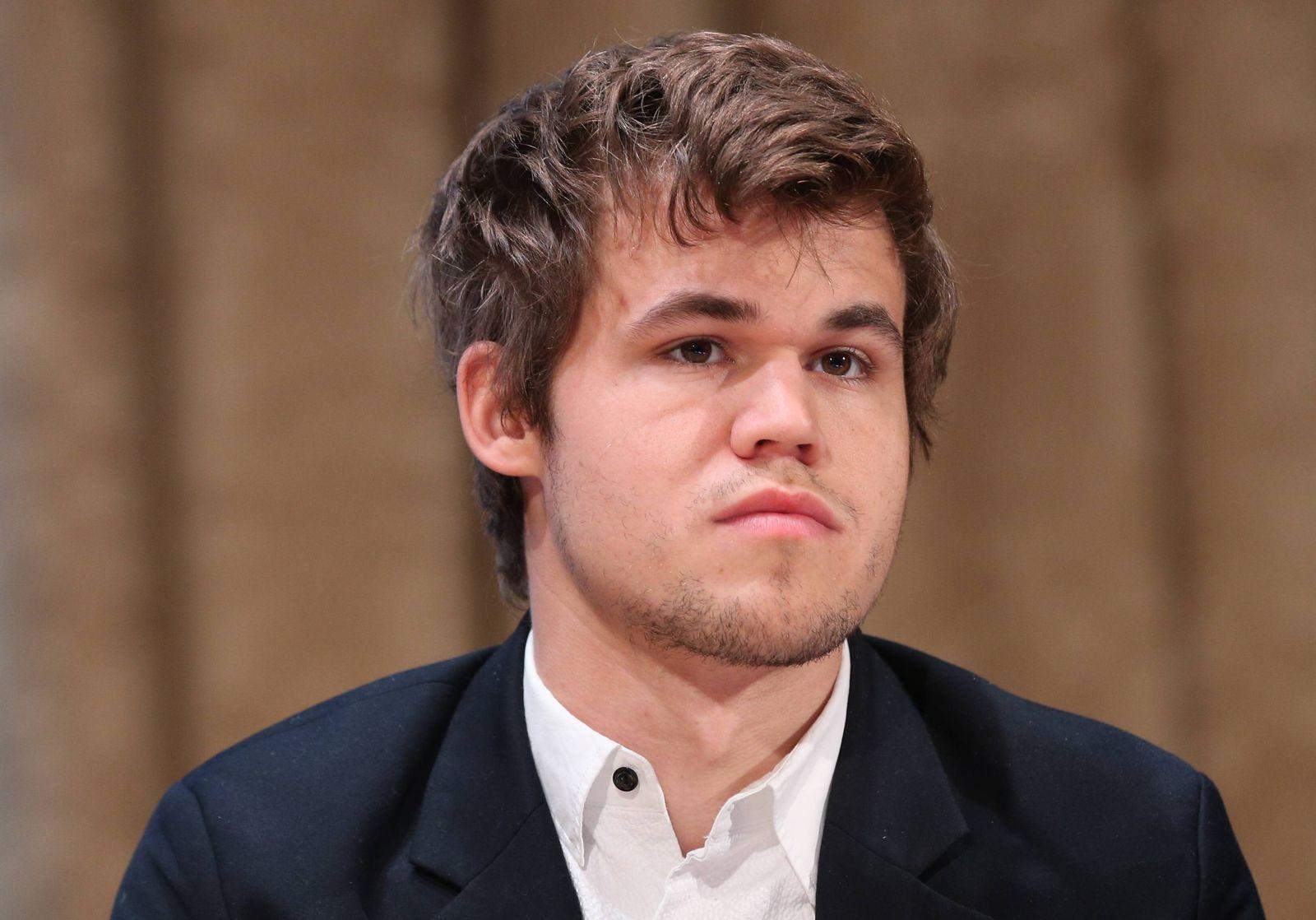 EINMALIGE VERWENDUNG Magnus Carlsen