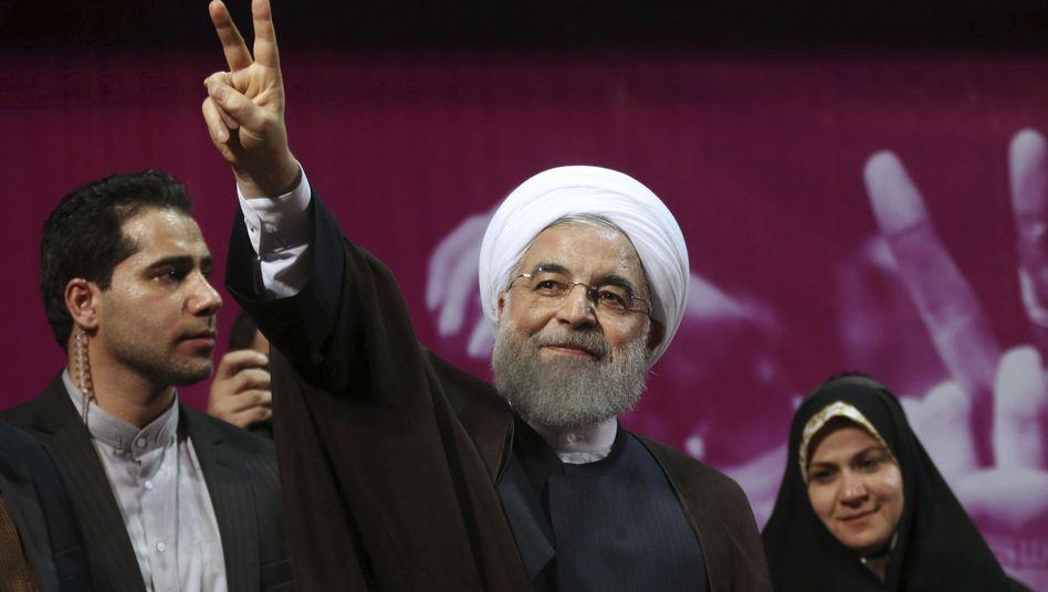 Hassan Rohani (Archivbild)