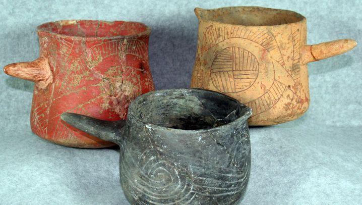 Cahokia: Archäologen finden Indianerbecher