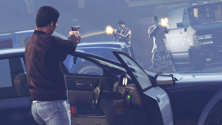 """Onlinewelten wie die von """"GTA Online"""" sind mit Katastrophen vertraut: Banküberfälle, Anschläge und nachgespielte nationale Krisen sind auf den Spieleservern Alltag"""