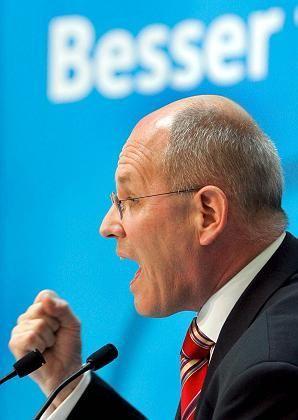 Lehnt die korrekte politische Einstellung ab: Generalsekretär Kauder