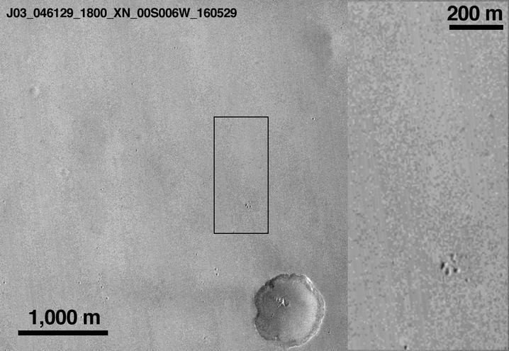 """Mars im Mai: Leere Ebene für die Mission """"ExoMars"""""""
