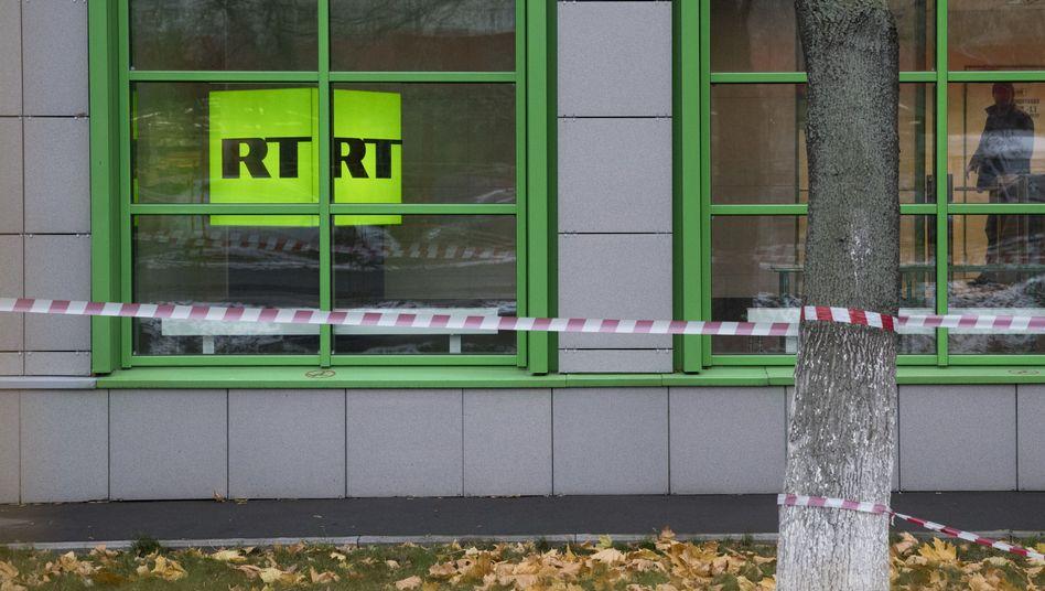RT-Büro in Moskau