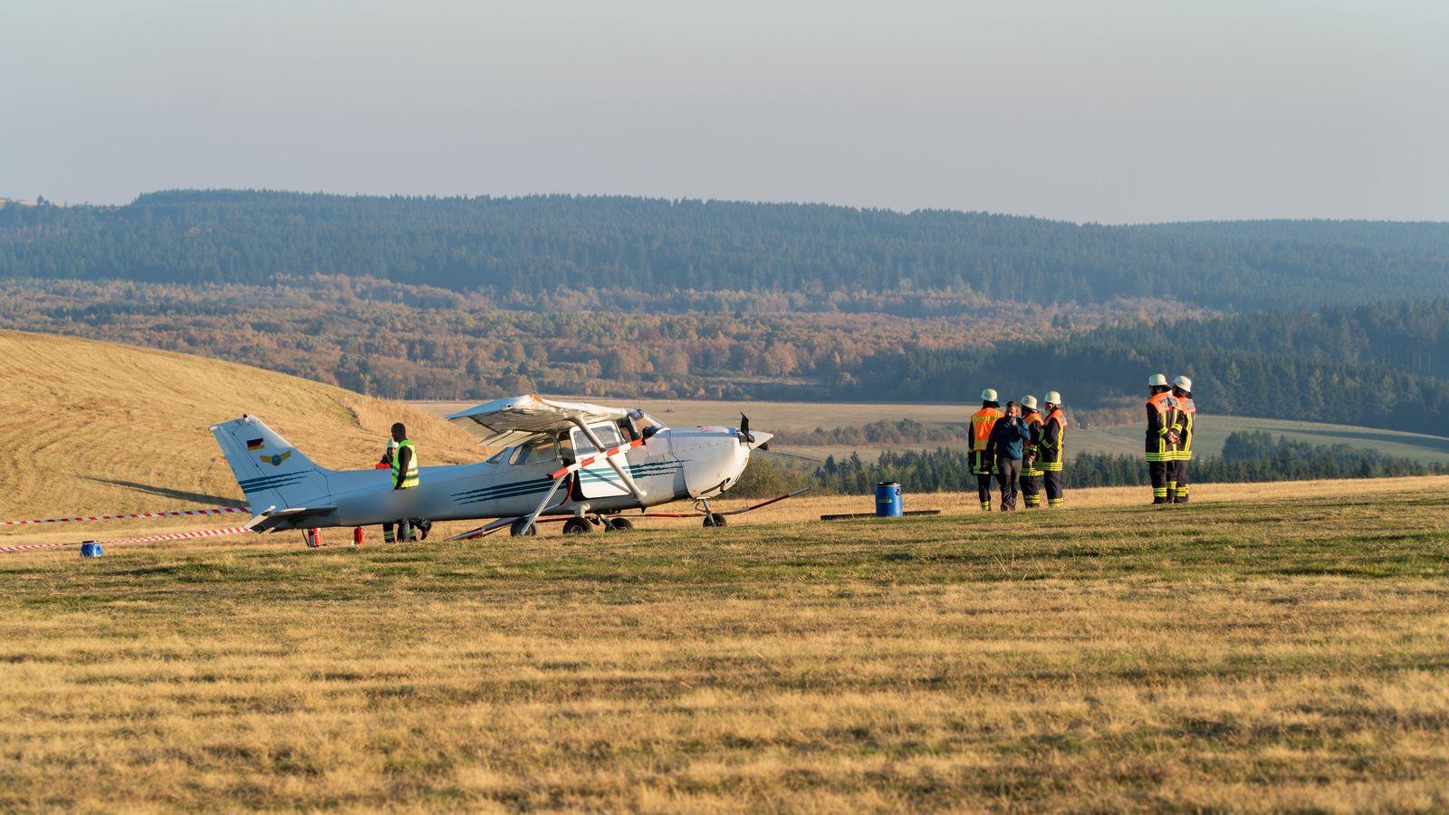 Wasserkuppe Flugzeugunglück
