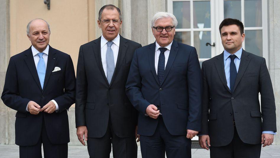 Außenminister in Berlin: Vorsichtig optimistisch