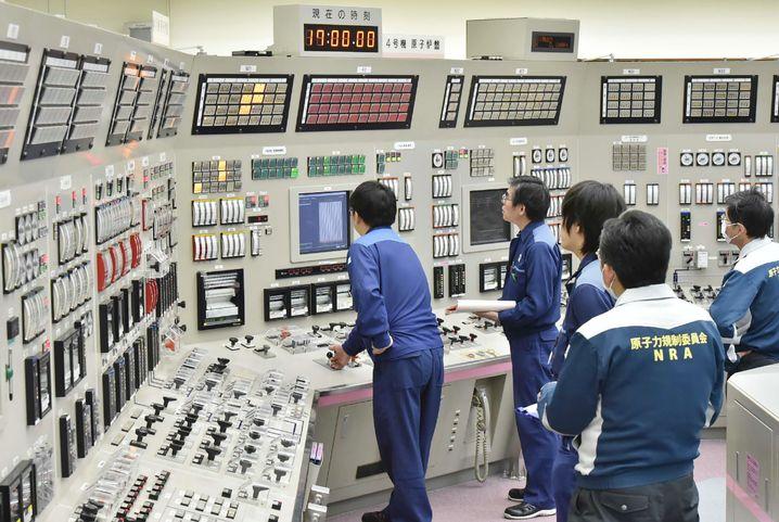 Kontrollraum des AKW Takahama