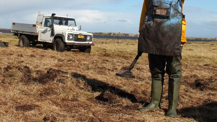 Minenräumer auf den Falklands: Der Krieg des Mister Madzokere