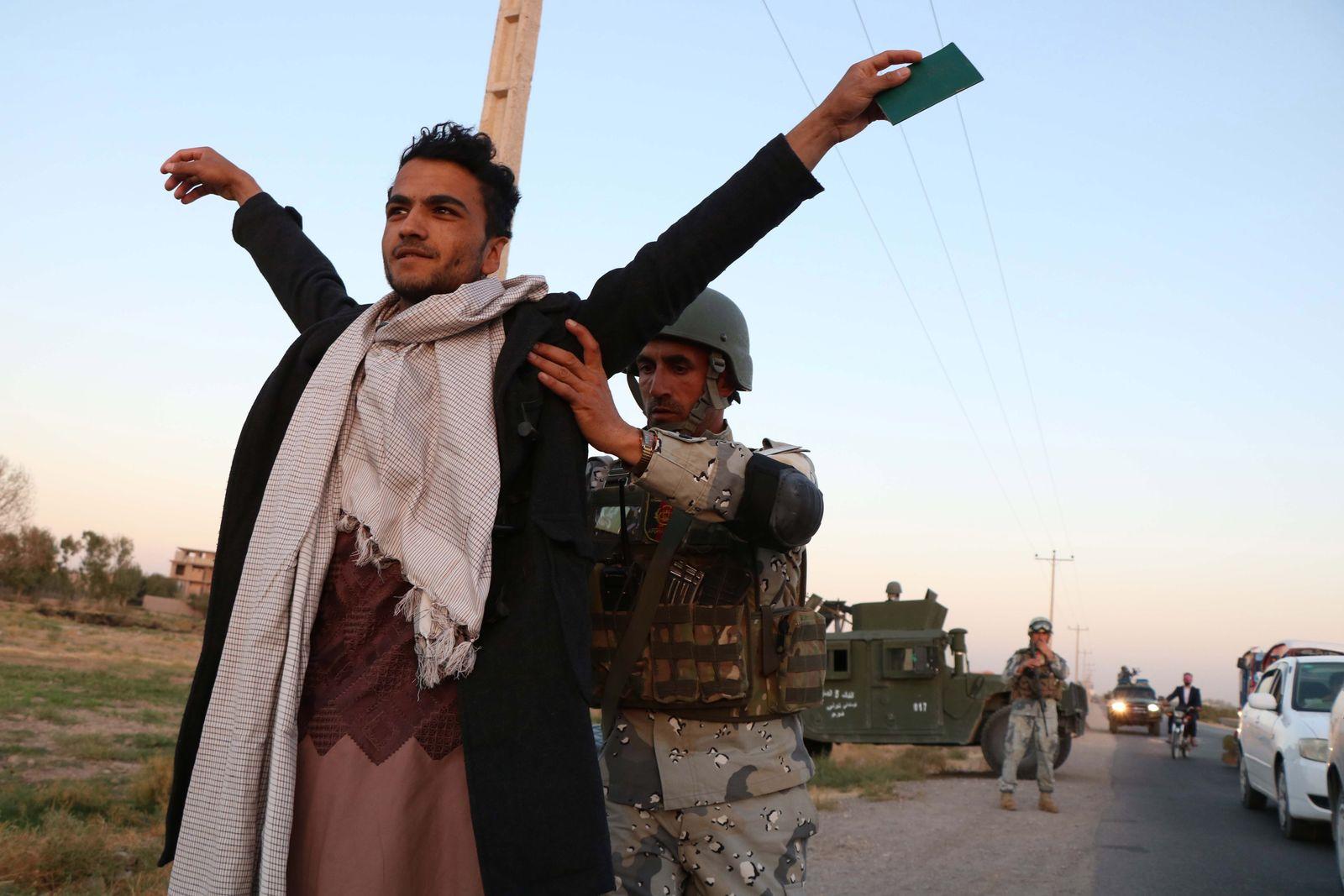 Afghanistan / Sicherheitskräfte