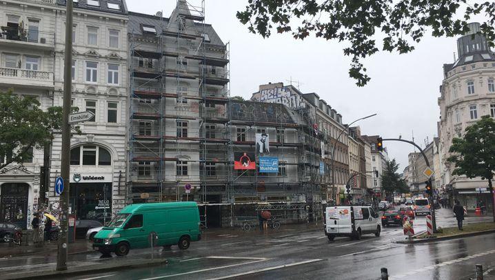 Haus am Schulterblatt: Im Zentrum der Krawalle