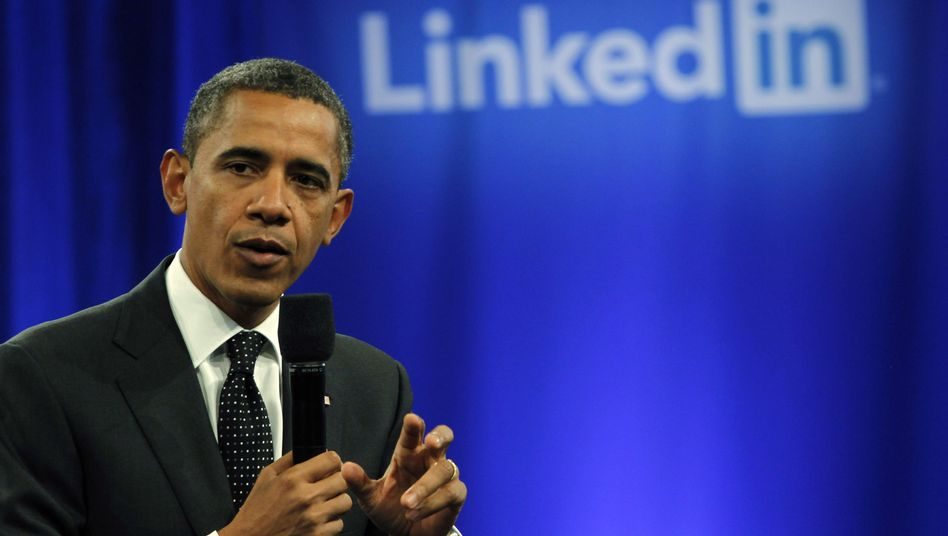 Obama slammed the Europeans at an event in Mountain View, California on Monday.
