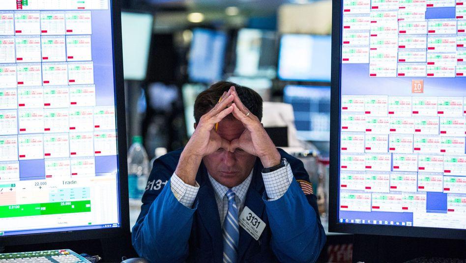 Händler an der New Yorker Börse: Höchste Zeit, dem Spuk ein Ende zu machen
