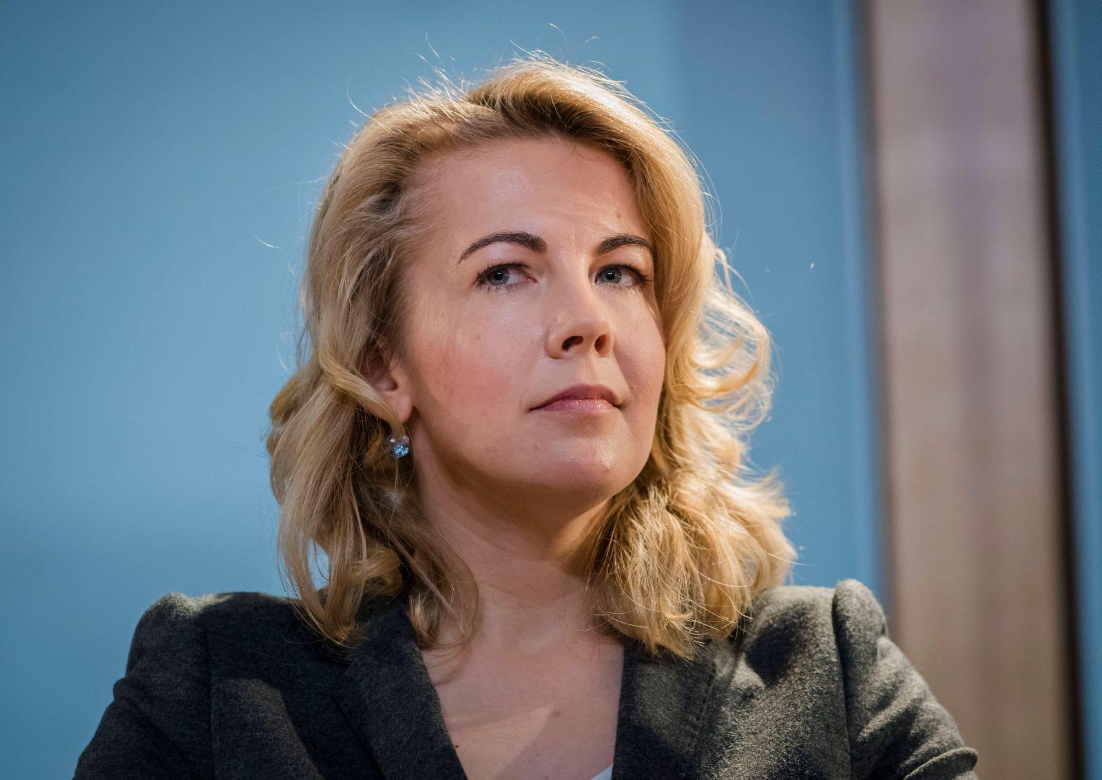Linda Teuteberg - Deutscher Produzententag 2020 Europa, Deutschland, Berlin, 20.02.2020: Auf dem Fachkongress der Film-