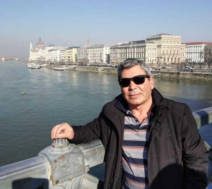Former Syrian brigadier general Khalid al-Halabi in Budapest