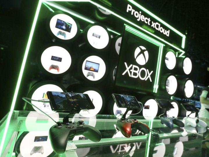 Demo-Geräte fürs Microsofts Projekt xCloud