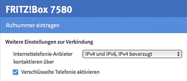 Fritzboxen können Festnetzgespräche (VoIP) seit Kurzem verschlüsselt übertragen. Sie müssen die Option nur noch einschalten.