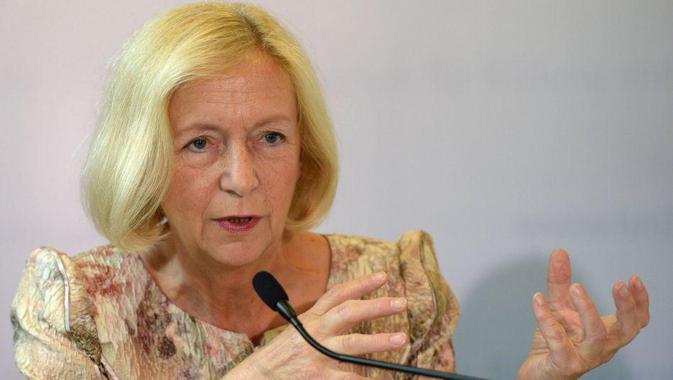 """Bundesbildungsministerin Wanka (CDU): """"Das Geld des Bundes ist da."""""""