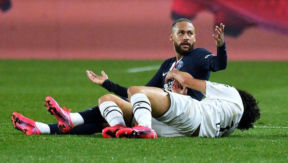 Paris gewinnt Sieben-Tore-Spiel: Gelb-Rot für Neymar, Pfiffe gegen Tuchel und doch kein Glück für Bordeaux