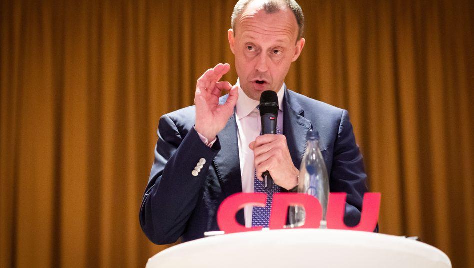 """CDU-Politiker Merz: """"An keiner Stelle die Bedeutung der freien Presse in Frage gestellt"""""""