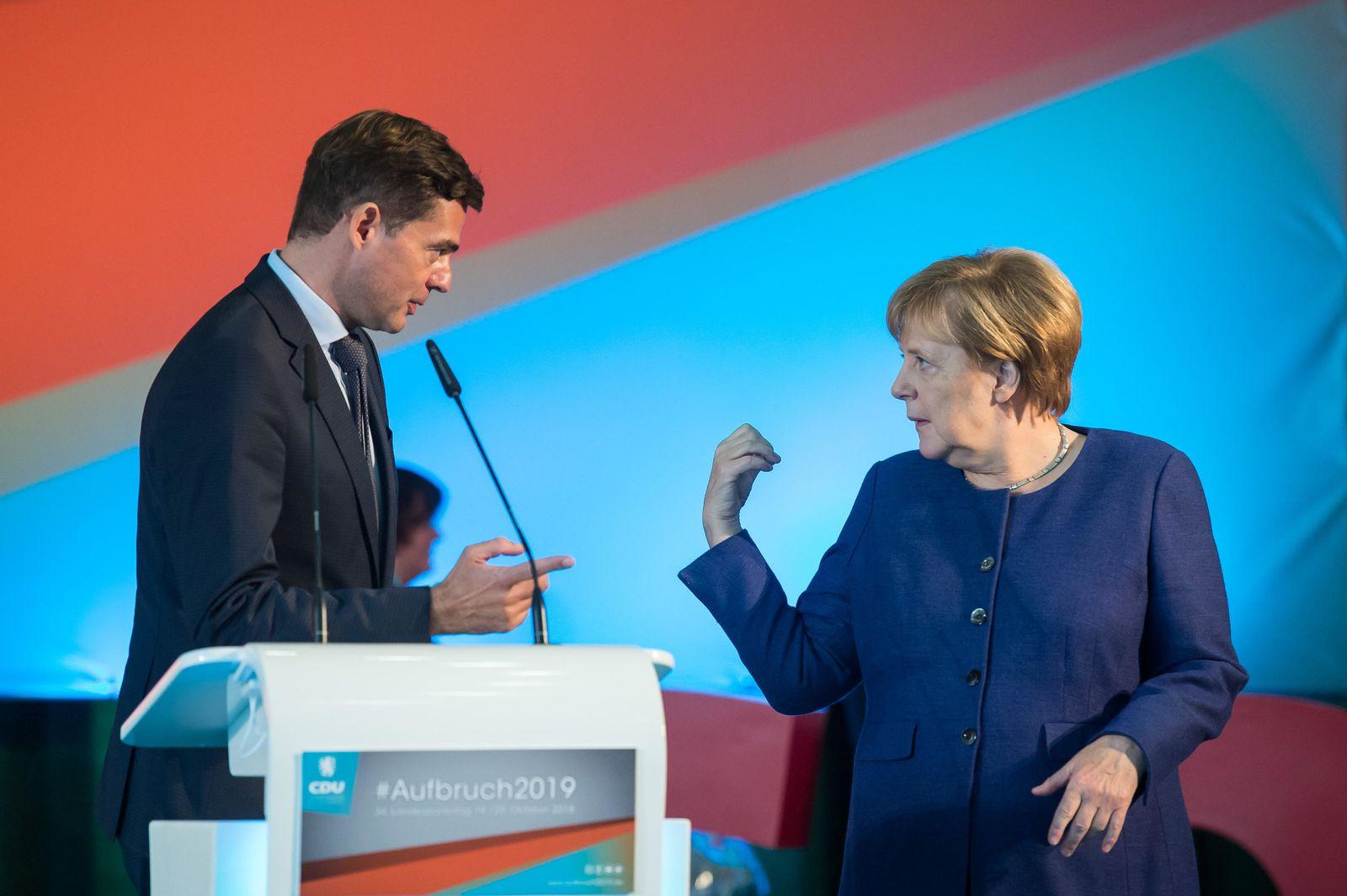 Mohring Merkel CDU Thüringen