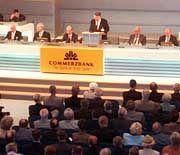 Commerzbank: Angst vor der Hauptversammlung