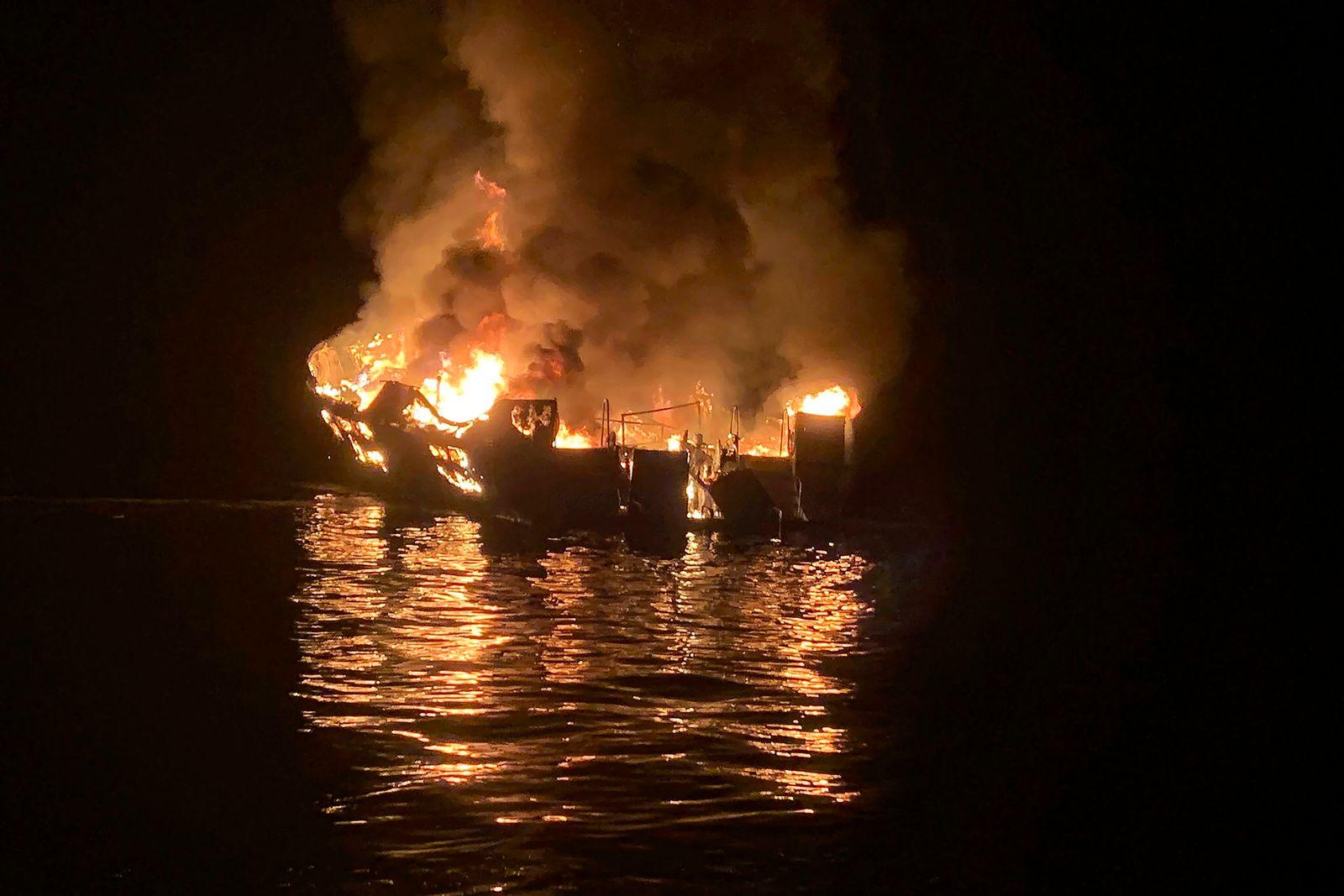 Anklage nach Bootsbrand in Kalifornien in 2019