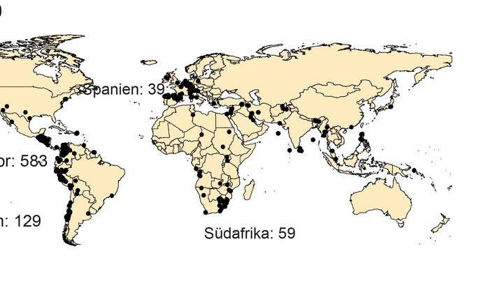 Grafiken: Anschläge auf Energie-Infrastrukturen weltweit