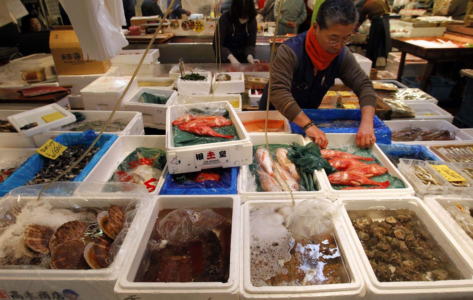 Fischmarkt in Tokio