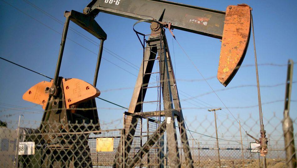 Ölpumpe in Kalifornien: Hoher Ölpreis belastet US-Konjunktur