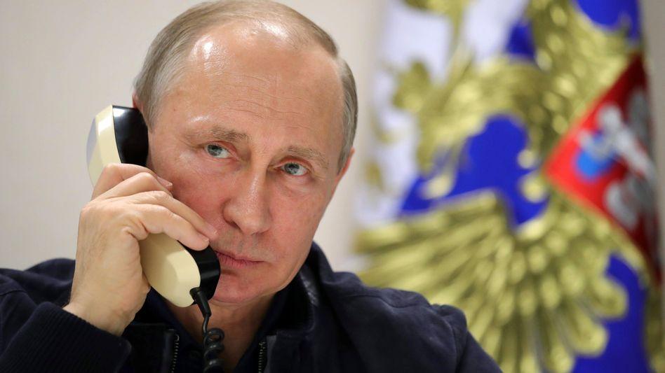 Russlands Präsident Wladimir Putin (Archivbild)