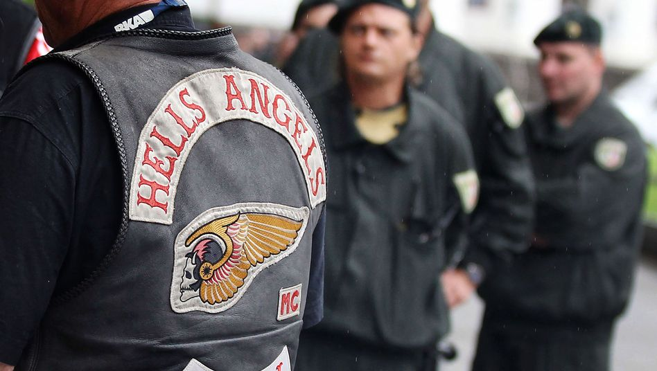 Anhänger der Hells Angels Bonn (Archiv)