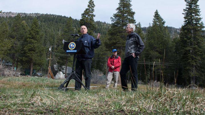 Rekord-Dürre: Kalifornien muss Wasser sparen