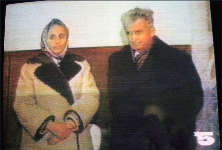 Diktator Ceausescu mit seiner Frau Elena: Ihre Exekution galt als beschlossene Sache